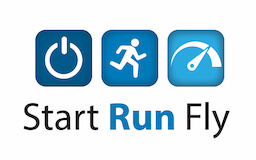 Start Run Fly Logo Logo